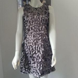 RYU Layered Embellished A-Line Dress NWT